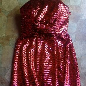 2 in 1 Blush Prom by Alexia Magenta Full Sequined